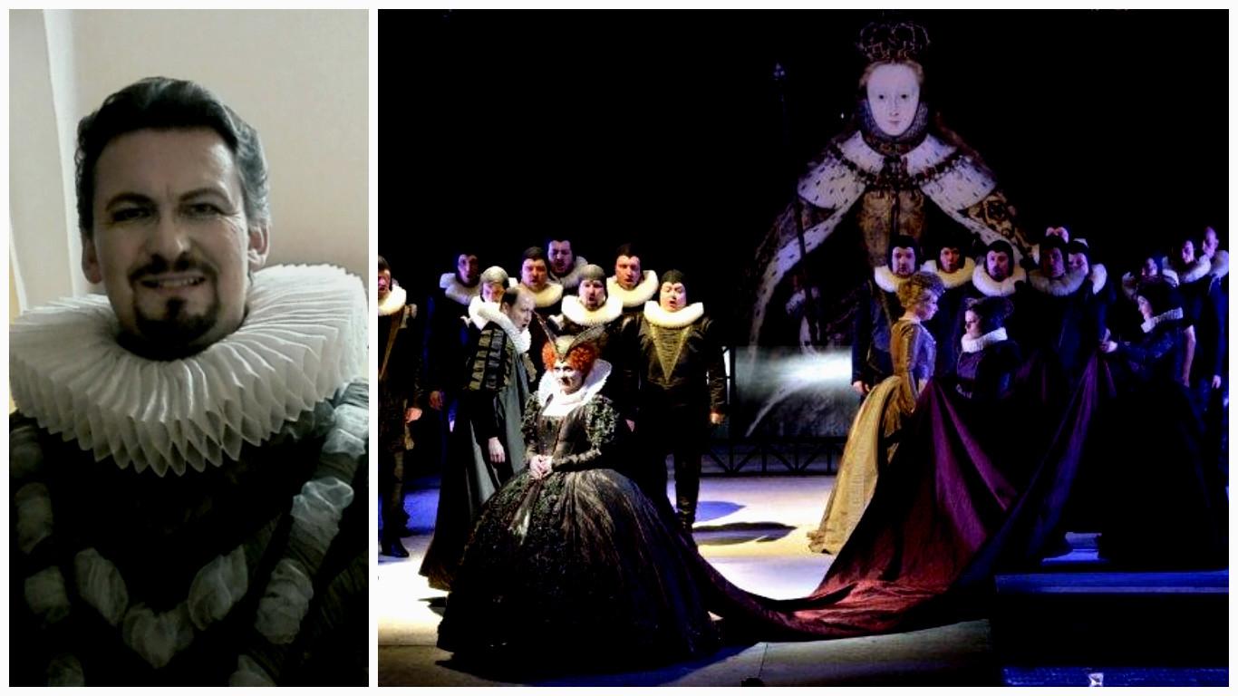 Martin Bárta jako Vévoda z Nottinghamu v premiéře opery Roberto Devereux
