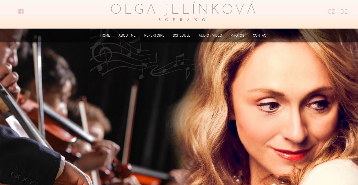 Nové webové stránky www.olgajelinkova.cz