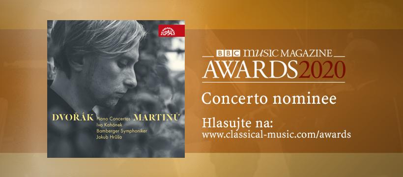 Ivo Kahánek se objevil v nominaci na výroční ceny BBC Music Magazine