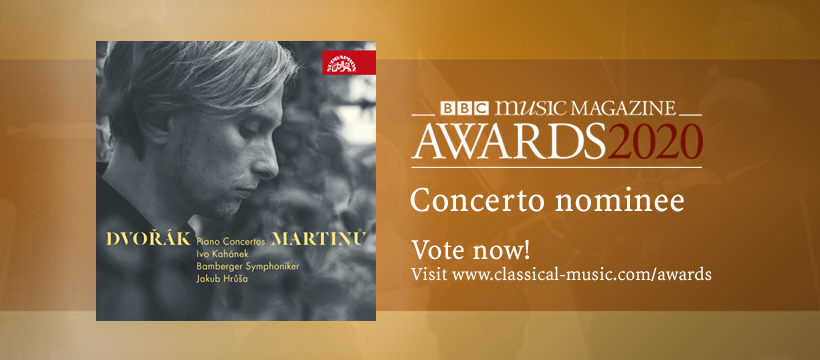 Ivo Kahánek has appeared in the nomination shortlist for the BBC Music Magazine Awards
