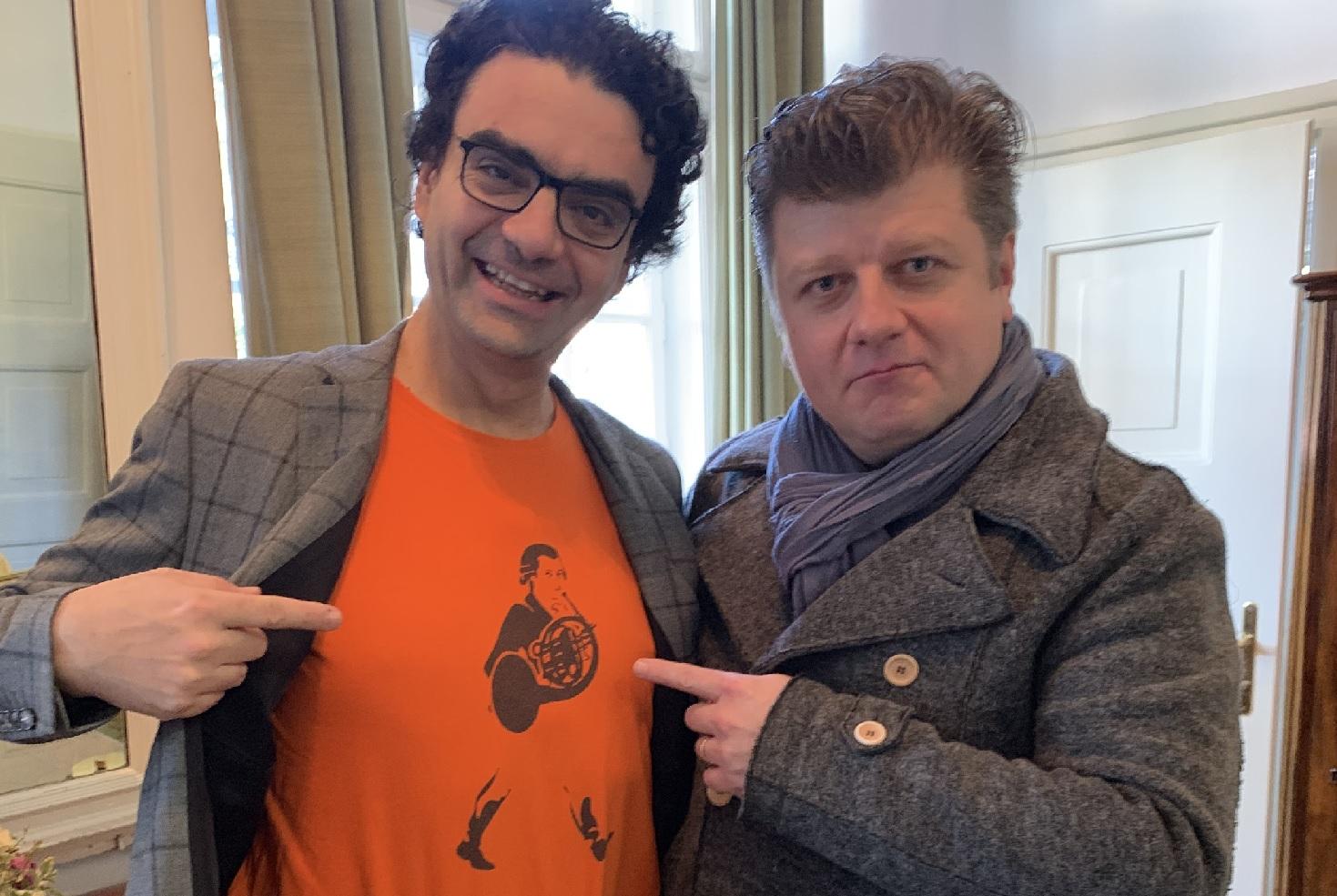 Hornista a dirigent Radek Baborák debutoval s Vídeňskými filharmoniky a oslnil jako sólista festivalu Mozartwoche v Salzburku