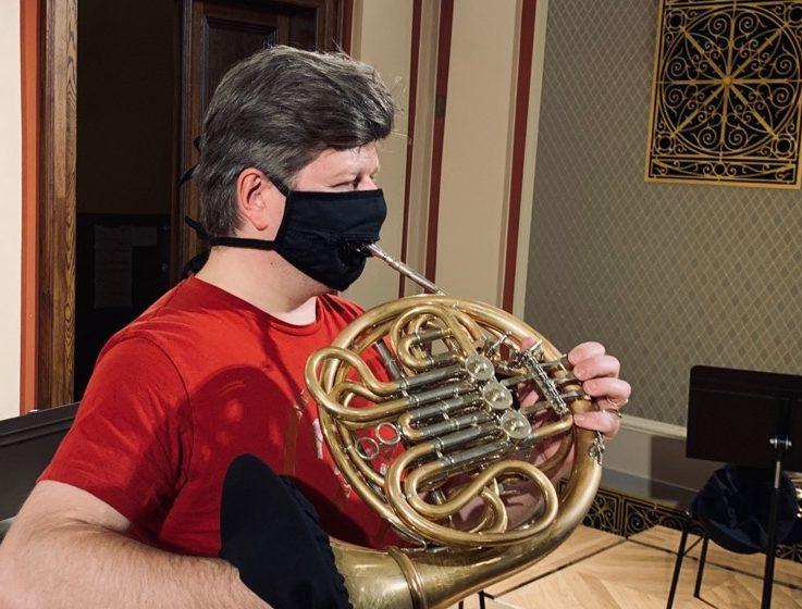 Solist Baborák: Singendes Waldhorn und Corona-Projekt für Musiker