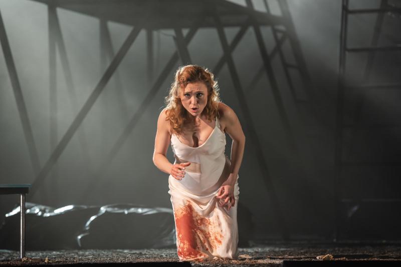 Olga Jelínková jako Gilda v živém přenosu Verdiho Rigoletta na ČT art