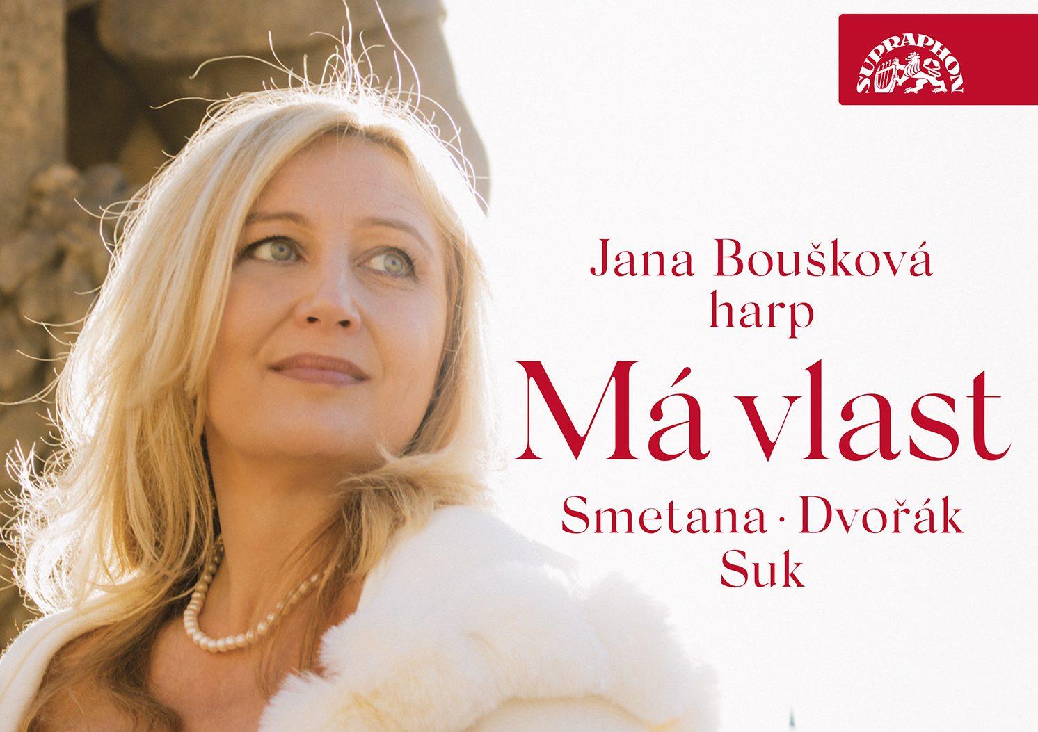 Špičková harfistka Jana Boušková přepisuje slavné české skladby pro harfu a chystá raritní CD